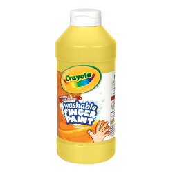 Crayola® Washable Finger Paint, 16 Oz., Yellow