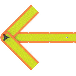 """Deflecto 18"""" Magnetic Safety Arrow"""