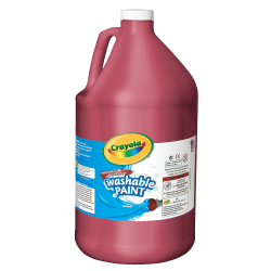 Crayola® Washable Paint, Red, Gallon