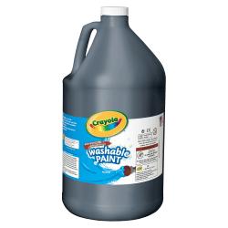 Crayola® Washable Paint, Black, Gallon