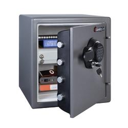 Sentry®Safe Electronic Fire Safe®, 1.23 Cu Ft Capacity, Gunmetal