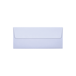"""LUX Square-Flap Invitation Envelopes With Peel & Press Closure, #10, 4 1/8"""" x 9 1/2"""", Lilac, Pack Of 50"""
