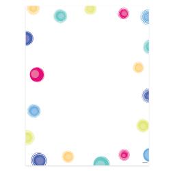 """Gartner™ Studios Design Paper, 8 1/2"""" x 11"""", 60 Lb, Multi-Dot, Pack Of 100 Sheets"""