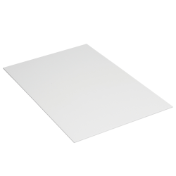 "Office Depot® Brand Plastic Corrugated Sheets, 40"" x 48"", White, Pack Of 10"