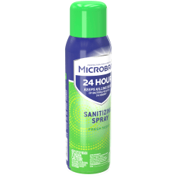 Microban® 24-Hour Disinfectant Sanitizing Spray, Fresh Scent, 15 Fl Oz