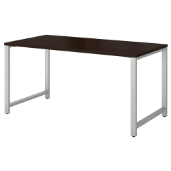 "Bush Business Furniture 400 Series Table Desk, 60""W x 30""D, Mocha Cherry, Standard Delivery"