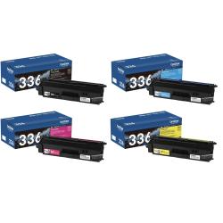 Brother® TN-336 High-Yield 4-Color Toner Cartridge Set