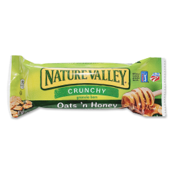 NATURE VALLEY Oats/Honey Granola Bar - Oat, Honey - 108 / Carton