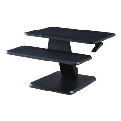 "Lorell™ Cantilever Desk Riser, 17-5/16"" x 25-5/16"", Black"