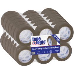 """Tape Logic #400 Industrial Tape, 2"""" x 110 Yd, Tan, Case Of 36 Rolls"""
