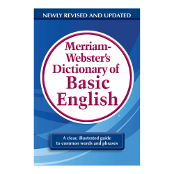 Merriam-Webster's Dictionary of Basic English, Pack Of 2