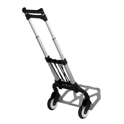 Mount-It! Folding Hand Truck And Dolly, 165 Lb Capacity