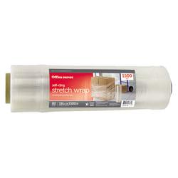 "Office Depot® Brand Stretch Wrap Film, 18"" x 1500' Roll, Clear"