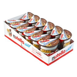 Nutella & Go Packs, 1.8 Oz, Tub Of 12