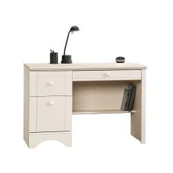 Sauder® Harbor View Wood Computer Desk, Antiqued White