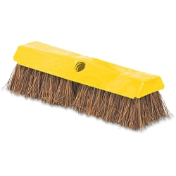 Rubbermaid® Rugged Deck Brush, Yellow