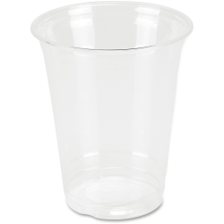 Genuine Joe Clear Plastic Cups - 25 - 12 fl oz - 500 / Carton - Clear - Plastic - Cold Drink, Beverage