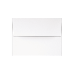 "LUX Invitation Envelopes With Peel & Press Closure, A2, 4 3/8"" x 5 3/4"", Red/White, Pack Of 1,000"