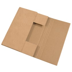 """Office Depot® Brand Easy Fold Mailers, 20"""" x 16"""" x 2"""", Kraft, Pack Of 50"""