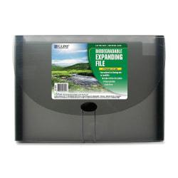 C-Line® 7-Pocket Expanding File, Letter Size, Smoke