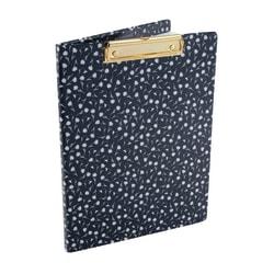See Jane Work® Paperboard Clipboard Padfolio, Navy Floral