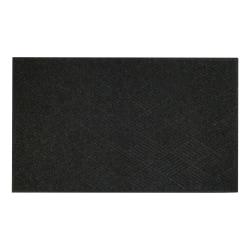 "M+A Matting WaterHog Diamond Classic Floor Mat, 72"" x 48"", Charcoal"