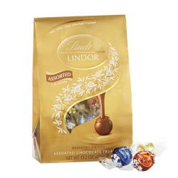 Lindor Chocolate Truffles, Assorted Platinum Bag, 15.2 Oz Bag