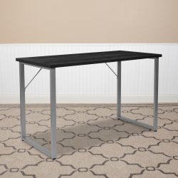 "Flash Furniture Harvey 48""W Computer Desk, Black"