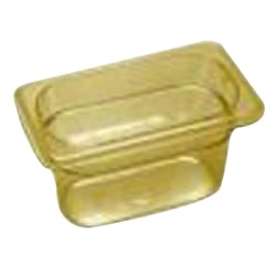 Cambro 1/9 Size H-Pan Food Pan, Yellow