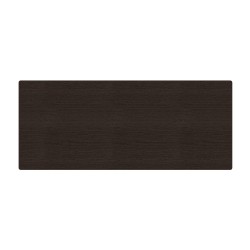 """WorkPro® Flex Collection Long Rectangle Table Top, 30"""" x 72"""", Espresso"""