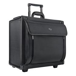 "Solo® Herald Rolling Catalog Case For 16"" Laptops, Black"
