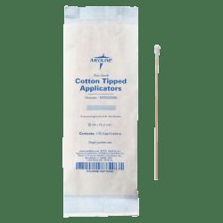 "Medline Cotton Tip Applicators, 6"", Nonsterile, White, Box Of 1,000"
