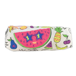 Office Depot® 3-D Painting Pencil Case Kit With Puffy Glue Paint, Watermelon