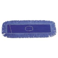 """Boardwalk® Dust Mop Head, 36"""" x 5"""", Blue"""