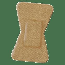 "Medline Comfort Cloth Woven Fingertip Bandages, 2"" x 1 1/2"", Neutral, Box Of 100"