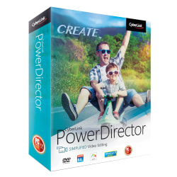 Cyberlink PowerDirector Easy Video Editing 2018, Disc