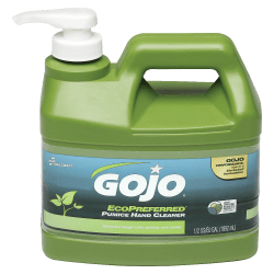 SKILCRAFT® GOJO Eco-Preferred Pumice Hand Cleaner, Lime Scent, 1 Gallon, Pack Of 6 (AbilityOne 8520-01-647-1707)