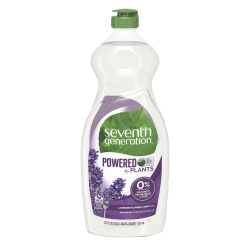 Seventh Generation™ Natural Dishwashing Liquid, Lavender/Mint Scent, 25 Oz Bottle