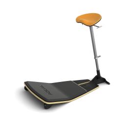 Safco® Locus™ Seat, Citrus