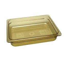 Cambro 1/2 Size H-Pan Food Pan, Yellow