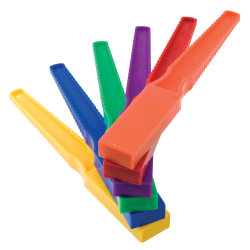 """Dowling Magnets Magnet Wand, 5/8""""H x 1""""W x 7 3/4""""D, Assorted Colors, Pre-K - Grade 6"""