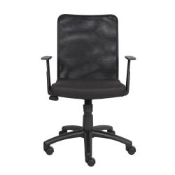 Boss Budget Mesh Task Chair, Black