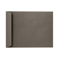 "LUX Open-End Envelopes With Peel & Press Closure, 10"" x 13"", Smoke Gray, Pack Of 500"