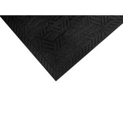 "M + A Matting SuperScrape Plus Floor Mat, 36"" x 120"", Black"