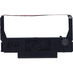 Epson® ERC-38BR Black/Red Fabric Ribbon