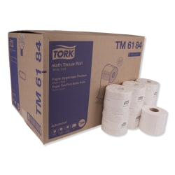 Tork® Advanced 2-Ply Toilet Paper, White, 550 Sheets x 80 Rolls