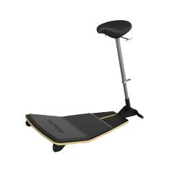 Safco® Locus™ Seat, Black