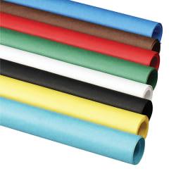 "Pacon® Rainbow Duo-Finish Kraft Paper Roll, 48"" x 50', Sky Blue"