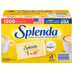 Splenda Sweetener Packets, Box Of 1,000