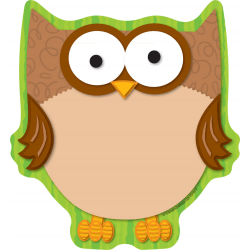 Carson-Dellosa Notepad, 50 Sheets, Owl